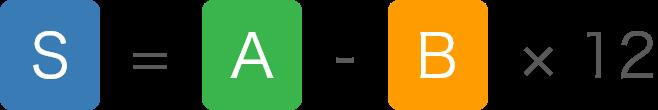 算定式の計算式